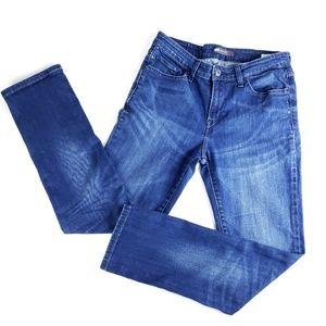 Levi's Mid Rise Skinny Embellished Jeans 30